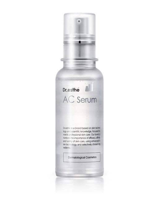 Антибактеріальна сироватка проти акне і вугрового висипу Dr.esthe AC Serum