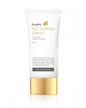 Ферментированный крем для жирной и склонной к акне кожи Dr.esthe AC Soothing Cream