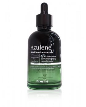 Успокаивающая ампульная сыворотка с азуленом Dr.esthé Azulene Relief Solution Ampoule