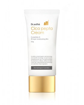 Пептидный крем для век и лица Dr.esthe Cica Pepta Cream