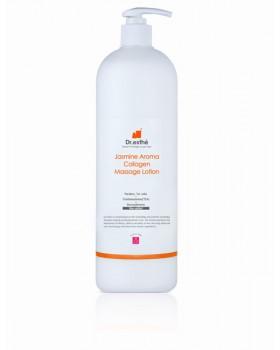 Массажный азуленовый крем-лосьон с коллагеном и аллантоином Dr.esthe Jasmine Aroma Collagen Massage Lotion 1000мл