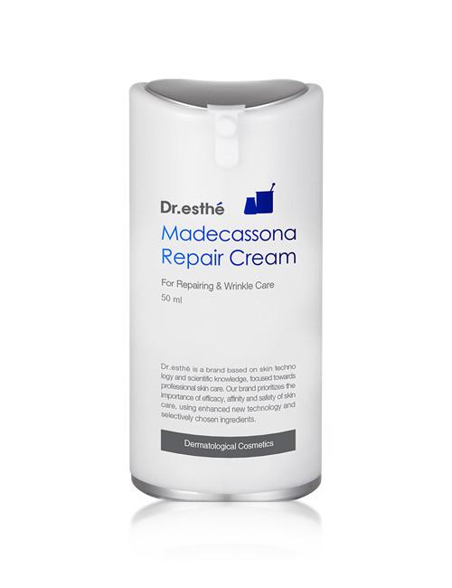 Антивозрастной с мадекассосидом инкапсулированный крем для лица Dr.esthe Madecassona Repair Cream