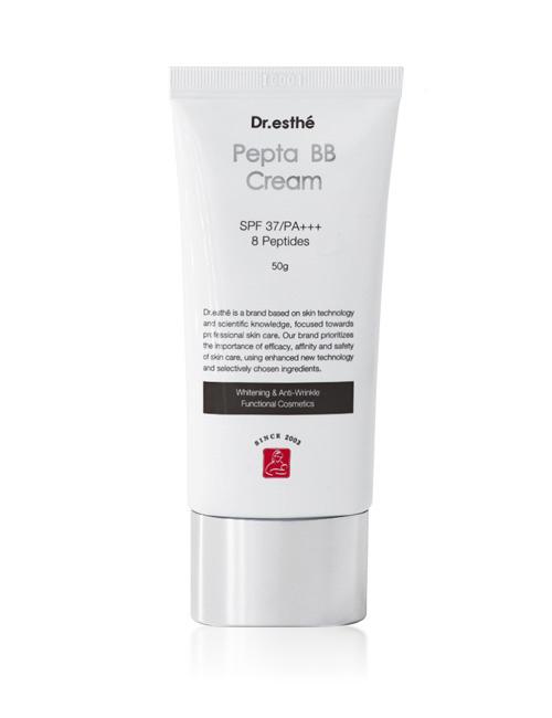 Пептидный BB крем для лица Dr.esthe Pepta BB Cream SPF37/PA+++