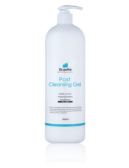 Очищающий гель для поврежденной кожи лица Dr.esthe Post Cleansing Gel 1000мл