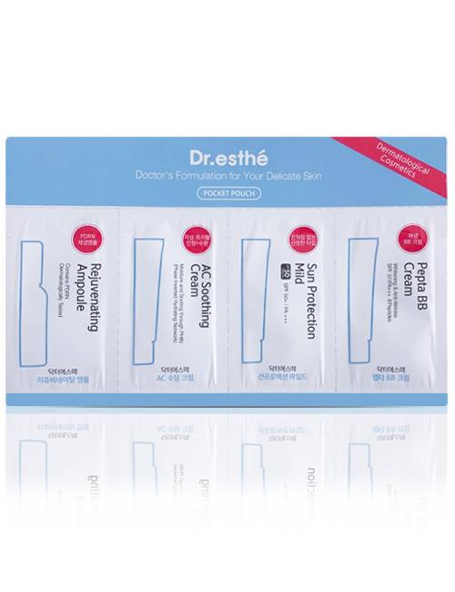 Кремовий набір пробників для особи Dr.esthe Cream Sample Pouch