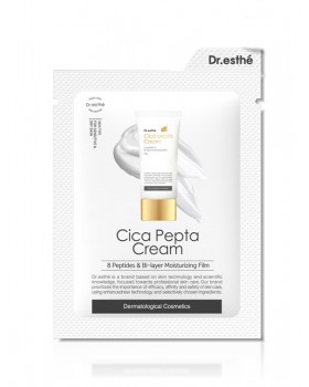 Крем для лица с пептидами Dr.esthe Cica Pepta Cream Sample Pouch