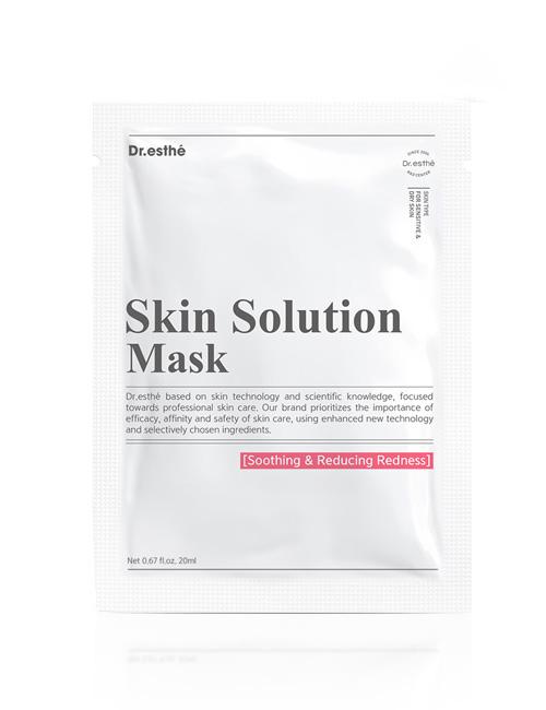 Заспокоююча маска з алантоїном для обличчя Dr.esthe Skin Solution Mask