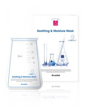 Очищающая, успокаивающая и увлажняющая маска для лица Dr.esthe Soothing & Moisture Mask