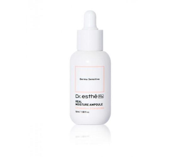 Увлажняющая ампула с пробиотиками для чувствительной кожи Dr.esthe RX Real Moisture Ampoule
