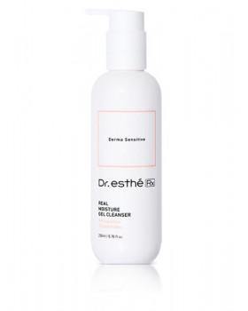 Очищающе - увлажняющий гель с пробиотиками для чувствительной кожи Dr.esthe RX Real Moisture Cleanser