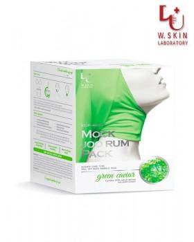Антивозрастной крем-маска для шеи и декольте W.Skin Stop-Aging Mock Joo Rum Pack