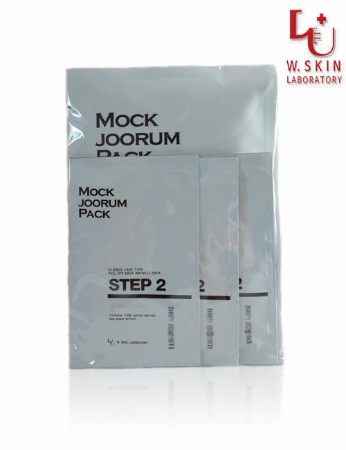 Антивозрастной крем-маска для шеи и декольте W.Skin Stop-Aging Mock Joo Rum