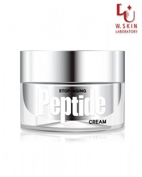 Крем для обличчя з пептидами W.Skin Stop-Aging Peptide Cream