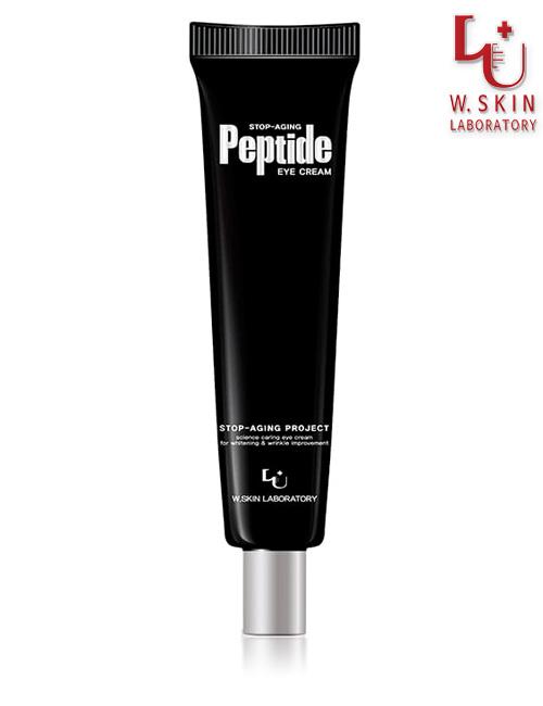 Крем для век с пептидами W.Skin Stop-Aging Peptide Eye Cream