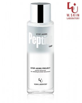 Тонер для обличчя з пептидами W.Skin Stop-Aging Peptide Toner
