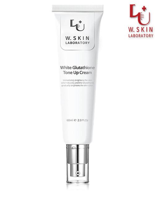 Крем для обличчя з глутатионом W.Skin White Glutathione Tone Up Cream