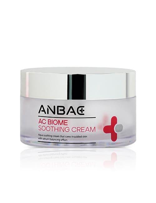 Успокаивающий лечебный крем с пептидами Anbac AC Biome Soothing Cream