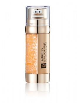 Ліфтинговий крем-есенція на стовбурових клітинах з пептидами і золотом Laduollux Rethighten Xil Lifting Cream Essence