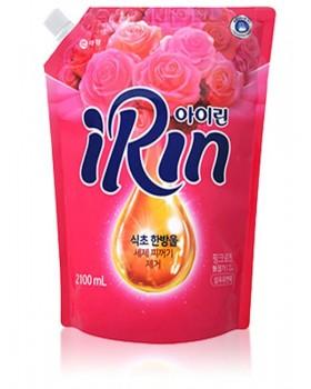 Ополаскиватель для белья  Irin Fabric Softener Pink Rose  2.1л мягкая упаковка