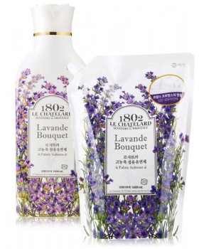 Ополіскувач для білизни Le Chatelard Fabric Softener Lavender Bouquet 1л + запаска