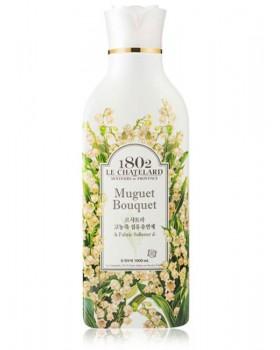 Ополаскиватель для белья  Le Chatelard Fabric Softener Muguet Bouquet   1л