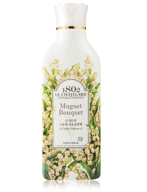 Ополіскувач для білизни Le Chatelard Fabric Softener Muguet Bouquet 1л