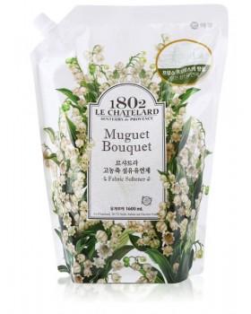 Ополаскиватель для белья  Le Chatelard Fabric Softener Muguet Bouquet   1.6л
