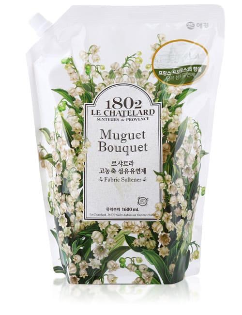 Ополіскувач для білизни Le Chatelard Fabric Softener Muguet Bouquet 1.6л