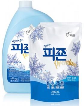 Ополаскиватель для белья Pigeon Premium Fabric Softener Blue Bianca 2.5л + запаска