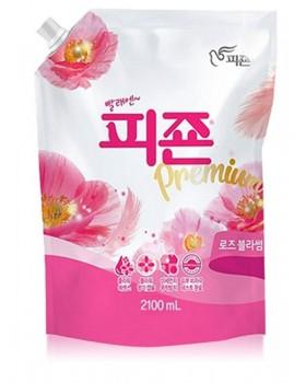 Ополаскиватель для белья Pigeon Premium Fabric Softener Pink Rose 2.1л