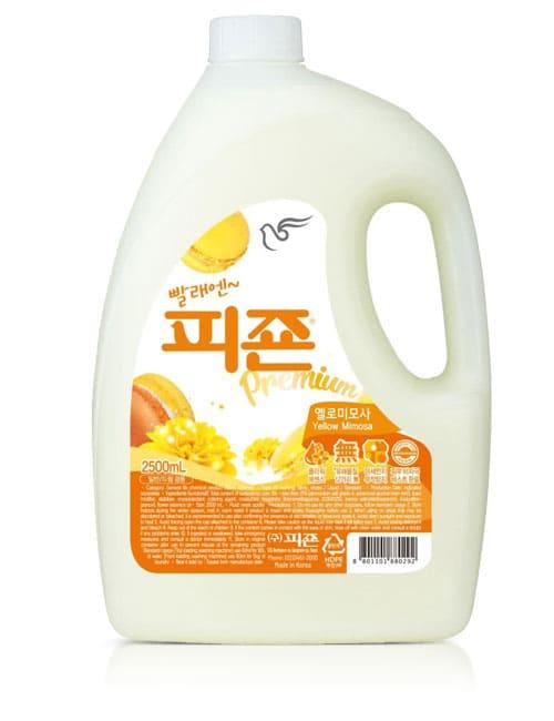Ополаскиватель для белья Pigeon Premium Fabric Softener Yellow Mimosa 2.5л