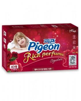 Кондиционер-салфетки Pigeon Rich Perfume Dry Sheet Flower Festival 40шт