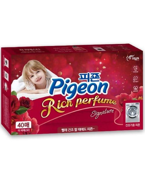 Кондиціонер-серветки Pigeon Rich Perfume Dry Sheet Flower Festival 40шт
