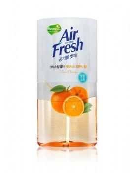 Жидкий освежитель воздуха Air Fresh Crystal Water Citrus Orange 400мл