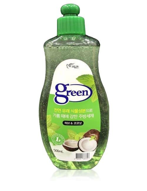 Засіб для миття посуду Pigeon Green Herb & Coconut 500мл
