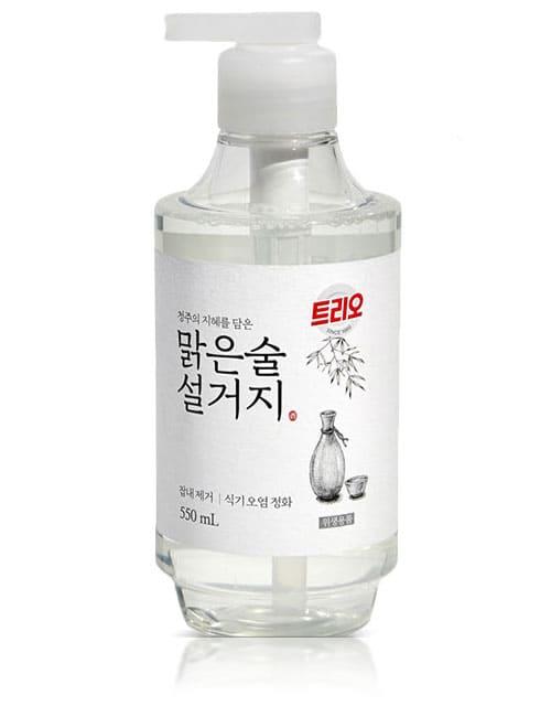 Засіб для миття посуду Trio Clear Drinking Fermented Sake 550мл