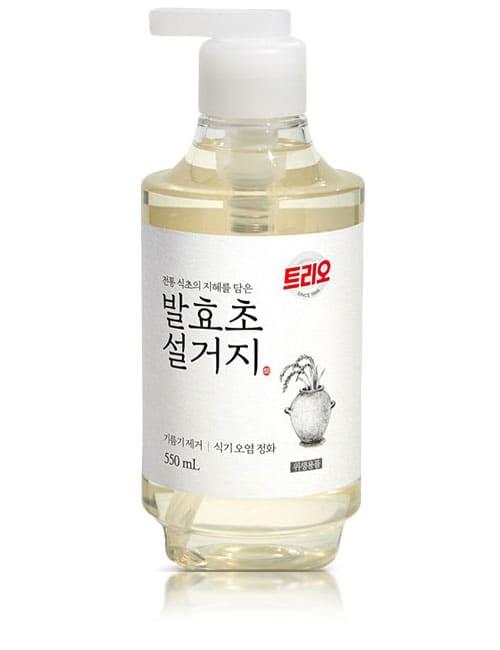 Средство для мытья посуды Trio Fermented Vinegar Sake 550мл