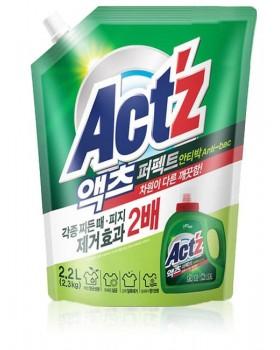 Гель для стирки ACT'Z Perfect Anti Bacteria 2.2л мягкая упаковка