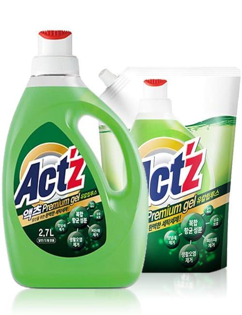 Гель для стирки ACT'Z Premium Gel Eucalyptus 2.7л + 1л