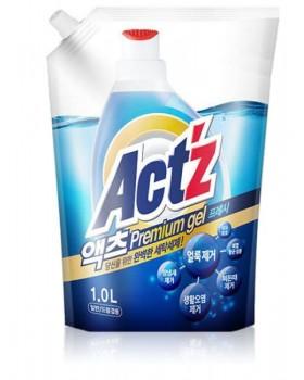 Гель для стирки ACT'Z Premium Gel Fresh 1л мягкая упаковка