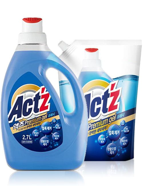 Гель для стирки ACT'Z Premium Gel Fresh 2.7л + 1л