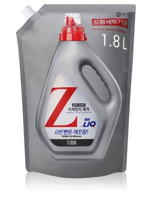 Гель для прання LiQ Z Anti Dust For Drum 1.8л м'яка упаковка