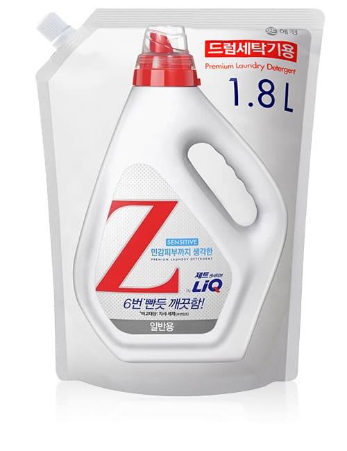 Гель для прання LiQ Z Sensetive For Drum 1.8л м'яка упаковка