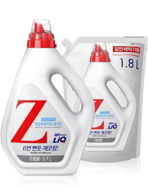Гель для прання LiQ Z Sensetive For Drum 2.7л + 1.8л