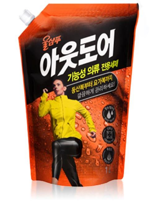 Жидкое моющее средство Wool Shampoo Out Door 1л мягкая упаковка