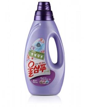Жидкий стиральный порошок Wool Shampoo Purple Lilac 1л