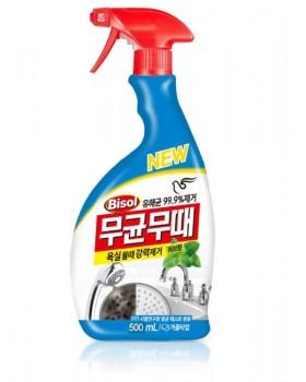 Засіб для чищення ванної Bisol Aseptic For Bathroom Mint 500мл