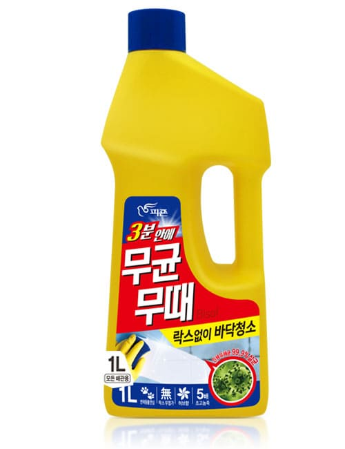 Засіб для миття підлоги Bisol Aseptic For Floor Mint 1л