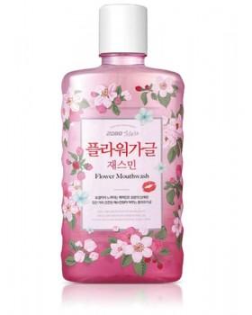 Ополаскиватель для полости рта 2080 Cheongeun Tea Flower Gargle Jasmine Mouthwash 750мл