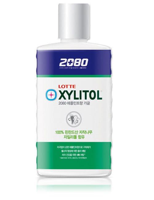 Ополаскиватель для полости рта 2080 Xylitol Gargle Apple Mint Mouthwash 750мл